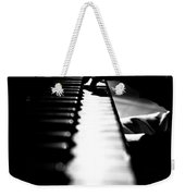 Piano Player Weekender Tote Bag by Scott Sawyer