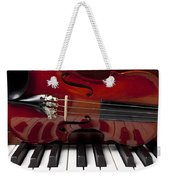 Piano Reflections Weekender Tote Bag