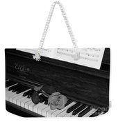 Piano Rose Weekender Tote Bag