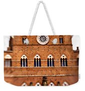 Piazza Del Campo Tuscany Italy Weekender Tote Bag