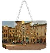 Piazza Della Cisterna Weekender Tote Bag