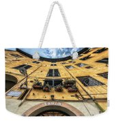 Piazza Dell'anfiteatro, Lucca, Italy Weekender Tote Bag