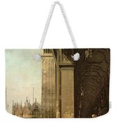 Piazza Di San Marco And The Colonnade Of The Procuratie Nuove Weekender Tote Bag