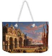Piazza Di San Marco. Venice Weekender Tote Bag