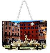 Piazza Navona 4 Weekender Tote Bag