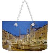 Piazza Navona, Rome Weekender Tote Bag