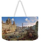 Piazza Novona - Rome Weekender Tote Bag