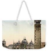 Piazza San Marco, 1890s Weekender Tote Bag