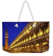 Piazza San Marco By Night Weekender Tote Bag