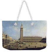 Piazza San Marco Venice  Weekender Tote Bag by Canaletto