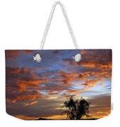 Picacho Peak Sunset II Weekender Tote Bag