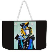 Picasso By Nora  The Queen Weekender Tote Bag