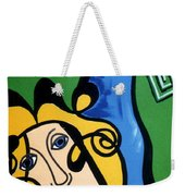 Picasso Influence With A Greek Twist Weekender Tote Bag