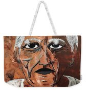 Picasso The Bull In Winter Weekender Tote Bag