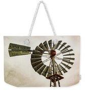 Piceance Basin Windmill Weekender Tote Bag