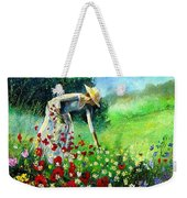 Picking Flower Weekender Tote Bag