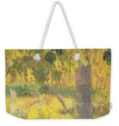 Picking Fruit From A Tree Weekender Tote Bag