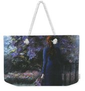 Picking Lilacs Weekender Tote Bag
