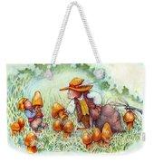 Picking Mushrooms Weekender Tote Bag