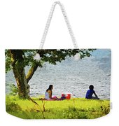 Picnic And Fishing Weekender Tote Bag