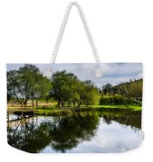 Picnic Area In The Marnel River IIi Weekender Tote Bag