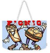 Picnic Weekender Tote Bag