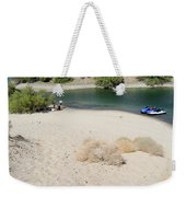 Picnic On Lake Mohave Weekender Tote Bag