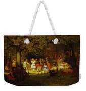 Picnic Party In The Woods Weekender Tote Bag