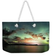 Picnic Point Aurora 180 Degree Pano, May 28, 2017 Weekender Tote Bag