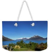 Picnic Table With A View Weekender Tote Bag