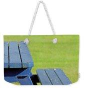 Picnic Tables Weekender Tote Bag
