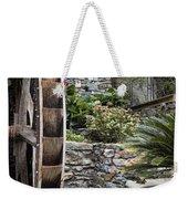 Pictueresque Waterwheel In Cinqueterre Garden Weekender Tote Bag