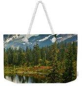 Picture Lake Vista Weekender Tote Bag