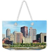 Picture Perfect Pittsburgh Panoramic Weekender Tote Bag