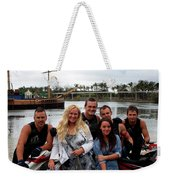Picture With The Team Weekender Tote Bag