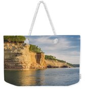 Pictured Rock Weekender Tote Bag