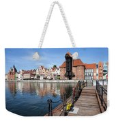 Picturesque City Of Gdansk In Poland Weekender Tote Bag