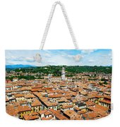 Picturesque Cityscape Of Verona Italy Weekender Tote Bag