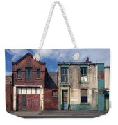 Picturesque Derelict Houses In Hull England Weekender Tote Bag