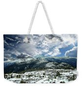 Picturesque Mountain Landscape Weekender Tote Bag