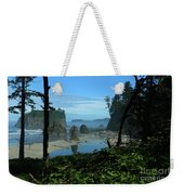 Picturesque Ruby Beach View Weekender Tote Bag