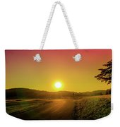 Picturesque Sunset Weekender Tote Bag