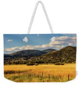 Picturesque View Of Steamboat Springs Colorado Weekender Tote Bag