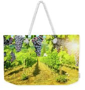 Picturesque Vineyard At Sunset Weekender Tote Bag