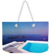 Piece Of Mediterranean Paradise Weekender Tote Bag