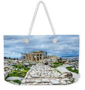 Acropolis - Pieces Of The Puzzle Weekender Tote Bag