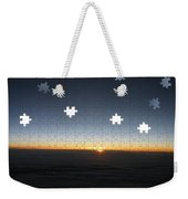 Piecing  Together A New Day Weekender Tote Bag