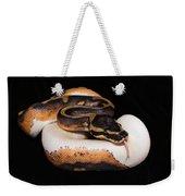 Piedbald Ball Python Weekender Tote Bag