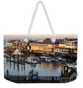 Pier 39 In The Sunshine Weekender Tote Bag
