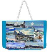 Pier 66 Collage Weekender Tote Bag